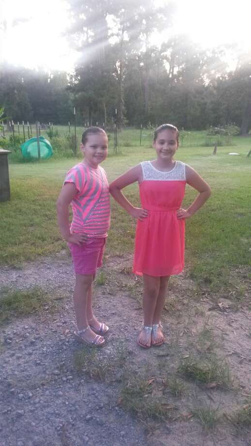 Kimber Carpenter 3rd grade Orangefield Elementary and Jamie Carpenter 6th grade Orangefield Junior High.
