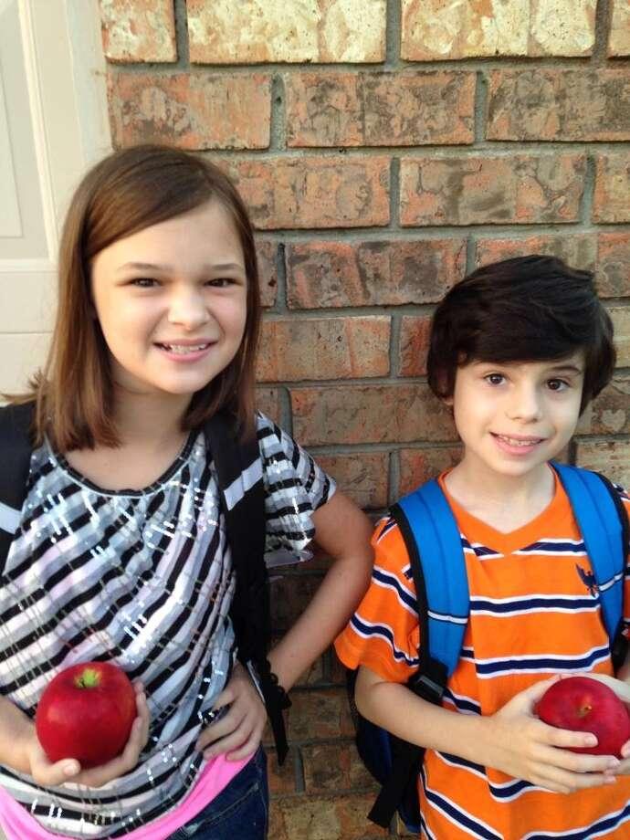 Alexandra and James Turner, Dishman Elementary, Beaumont ISD.
