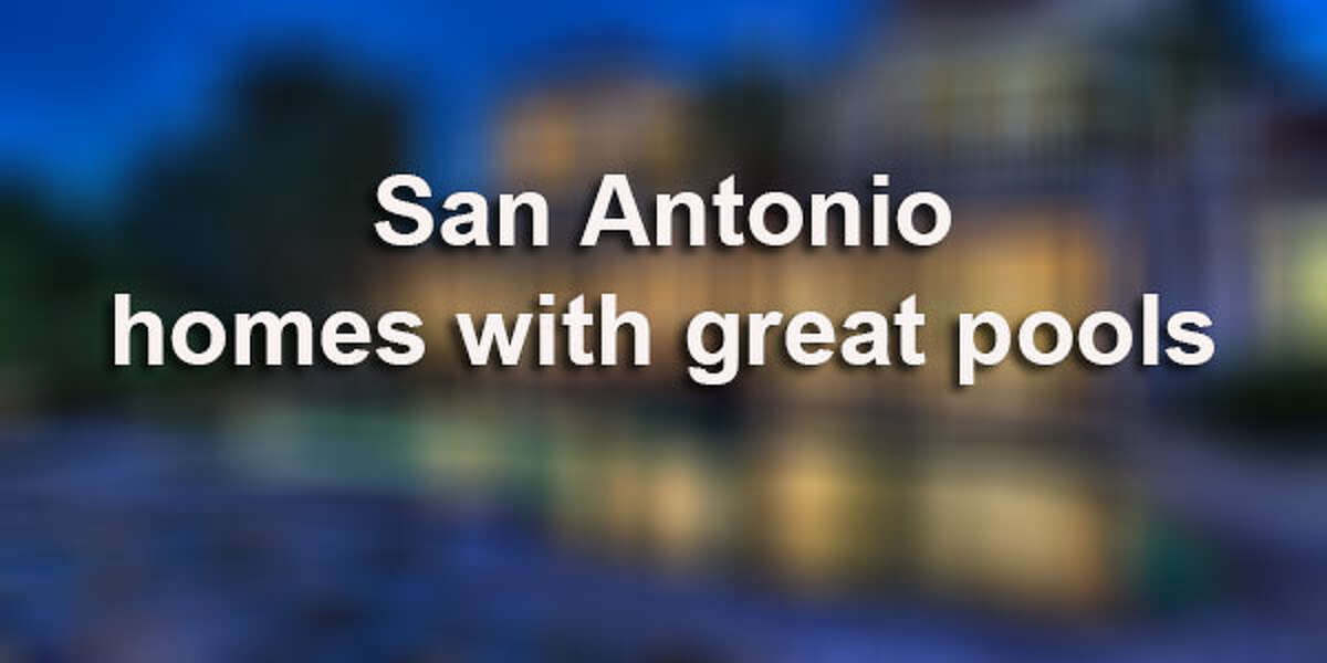 The summer might be winding down and the children are back in school, but that doesn't mean you can't enjoy a nice, refreshing dip in the pool.Click through to view picturesque San Antonio estates that showcase sparkling swimming pools.