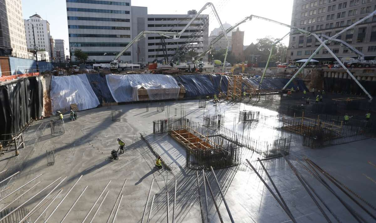 Developer: HinesLocation: 609 Main StreetFloor count: 49End date: Early 2017See more photos: 609 Main, site of last weekend's massive concrete pour, by the numbers