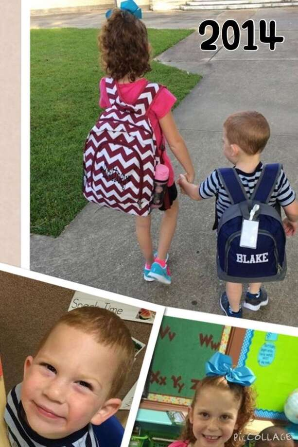 Brittney McCall, 2nd grade at Read Turrentine elementary, and Blake McCall, Pre-K at All Faiths Day School.