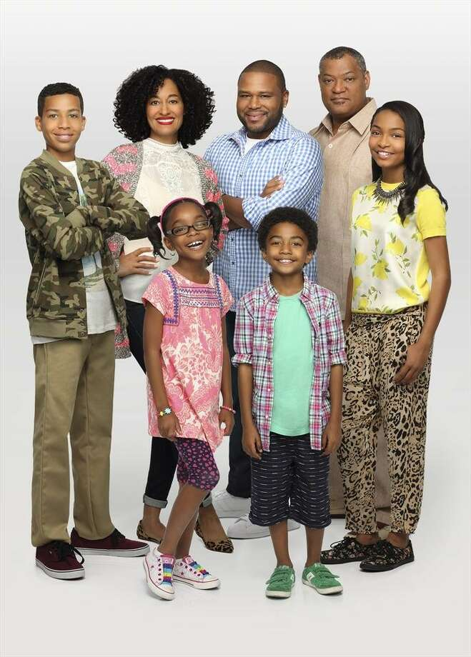 Anthony Anderson stars with Tracee Ellis Ross and Lawrence Fishburne in the new ABC sitcom, 'Black-ish,' debuting on Wednesday, September 24th at 8:30 p.m. Photo: Craig Sjodin, ABC