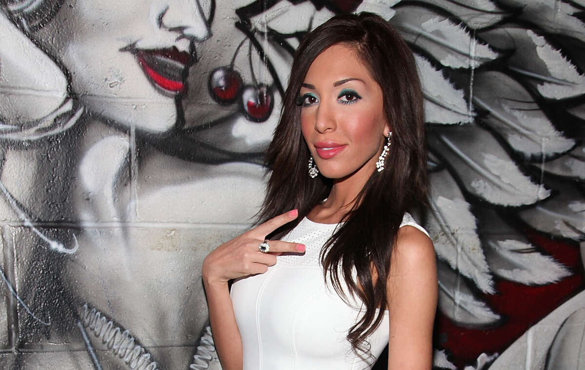 Farrah Abraham - The former 'Teen Mom' star reportedly worked at a strip club in Austin, Texas in the summer of 2014. Abraham told E! News that she's researching for future roles. Riiiiiight. She was first hired as a waitress and then switched to dancing. According to Radar Online, BeBe Montgomery, Manager of Palazio and Abraham settled on an impressive salary of $544,000 soon after she switched to dancing.  While Abraham was first famous and then turned to exotic dancing, that's not usually the case. Take a look at some stars you had no idea worked in adult entertainment.