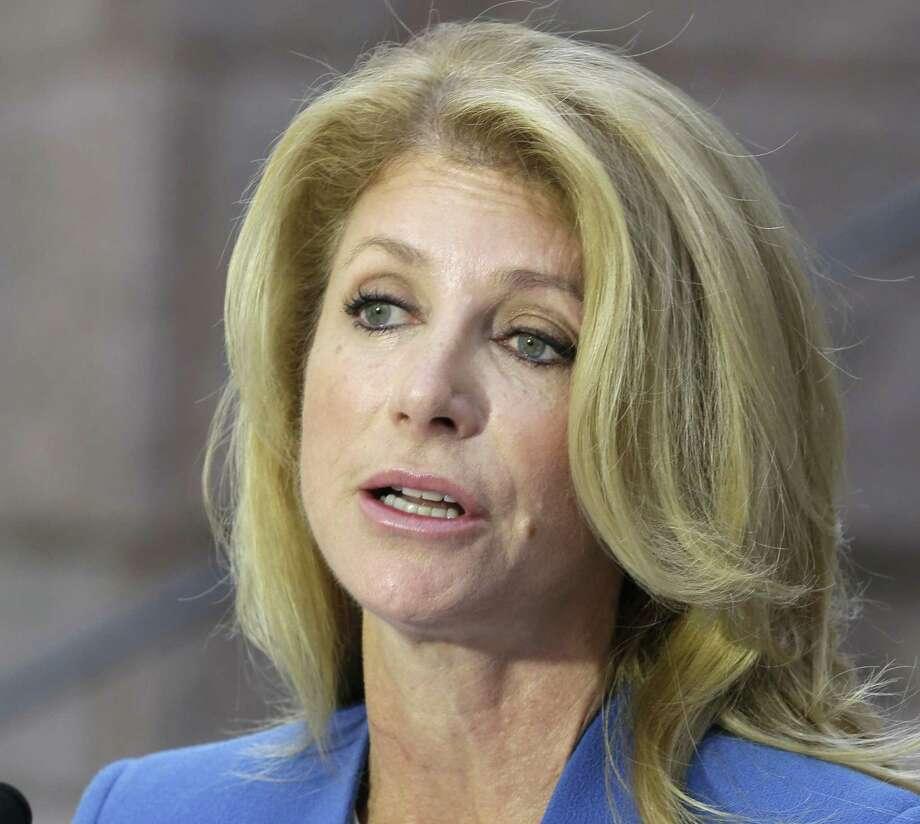 Democratic gubernatorial candidate Wendy Davis favors ending the statute of limitations in cases of rape and sexual assault. Photo: Pat Sullivan / Associated Press / AP