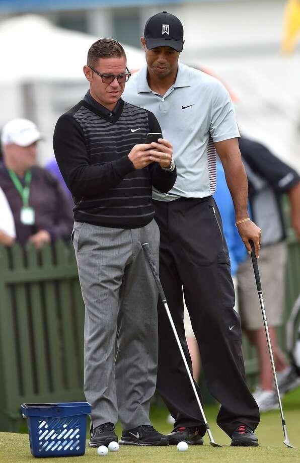 Tiger Woods Photo: Paul Ellis, AFP/Getty Images