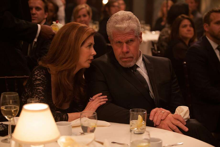 "Dana Delany and Ron Perlman star in the dark drama ""Hand of God,"" a standout among five potential series on Amazon. Photo: Karen Ballard, Amazon"