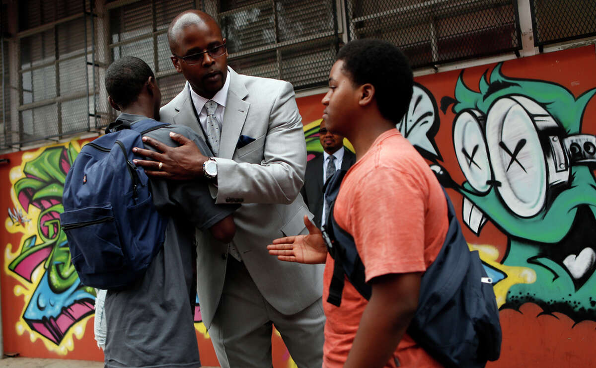 Oakland schools chief Antwan Wilson is working on a plan to reform the five worst- perform ing schools in the city.