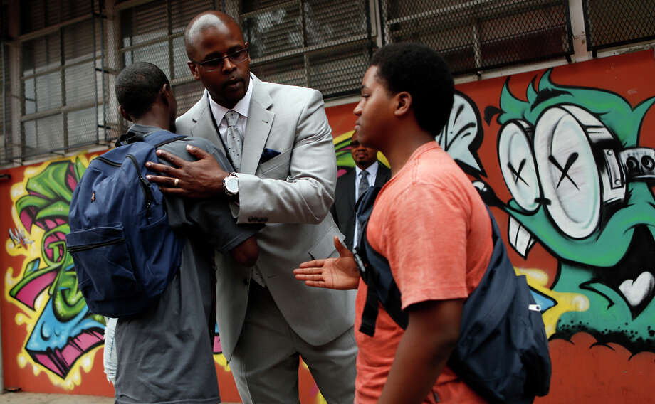 Oakland schools chief Antwan Wilson is working on a plan to reform the five worst- perform ing schools in the city. Photo: Scott Strazzante / The Chronicle / ONLINE_YES