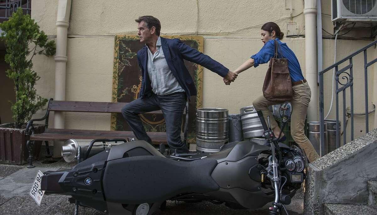 "Pierce Brosnan and Olga Kurylenko star in Relativity Media?•s ""The November Man""."