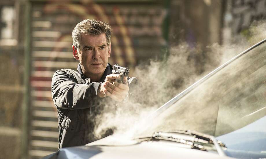 "Even Pierce Brosnan can't save ""The November Man."" Photo: Aleksandar Letic, Relativity Media"