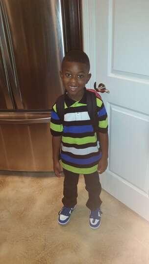 Christian Benjamin, first grade at Sabine Pass Elementary.
