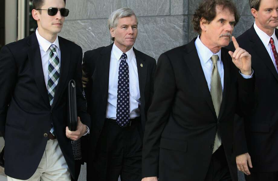Ex-Virginia Gov. Bob McDonnell and his wife, Maureen, are on trial and accused of corruption. Photo: Alex Wong, Getty Images
