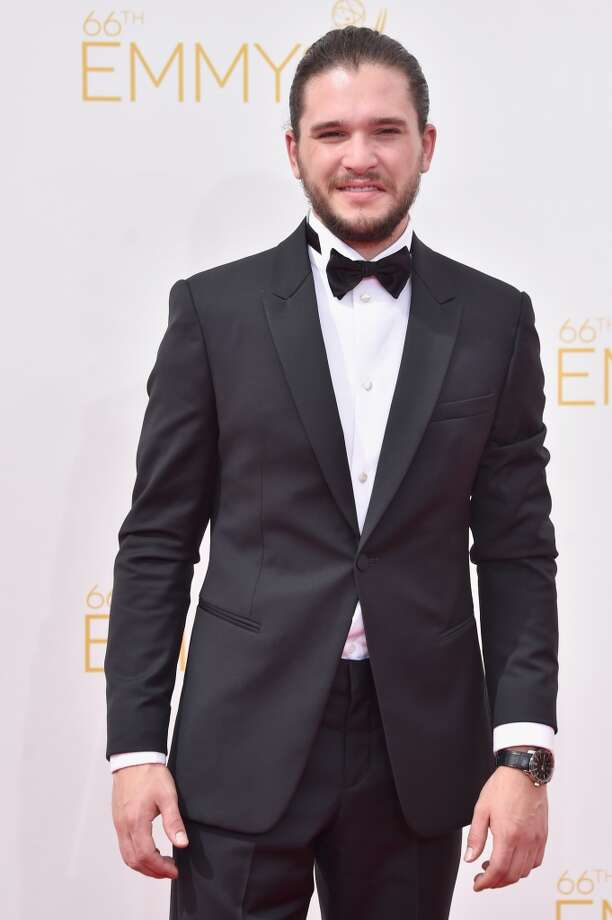 Actor Kit Harington attends the 66th Annual Primetime Emmy Awards held at Nokia Theatre L.A. Live on August 25, 2014 in Los Angeles, California. Photo: Frazer Harrison, Getty Images