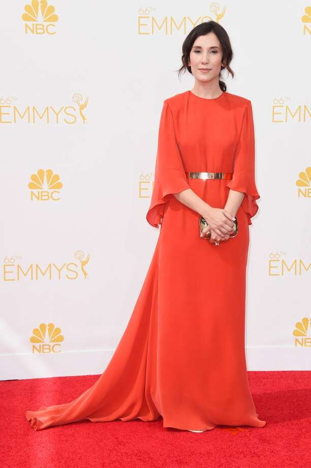 Actress Sibel Kekilli attends the 66th Annual Primetime Emmy Awards held at Nokia Theatre L.A. Live on August 25, 2014 in Los Angeles, California. Photo: Frazer Harrison, Getty Images