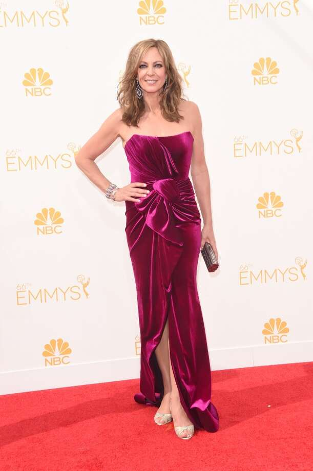 Actress Allison Janney attends the 66th Annual Primetime Emmy Awards held at Nokia Theatre L.A. Live on August 25, 2014 in Los Angeles, California. Photo: Jason Merritt, Getty Images
