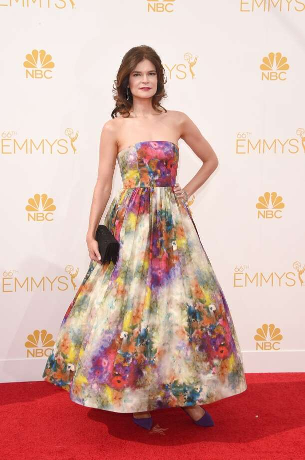 Actress Betsy Brandt attends the 66th Annual Primetime Emmy Awards held at Nokia Theatre L.A. Live on August 25, 2014 in Los Angeles, California. Photo: Jason Merritt, Getty Images