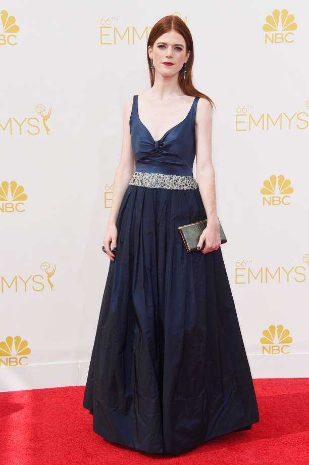 Actress Rose Leslie attends the 66th Annual Primetime Emmy Awards held at Nokia Theatre L.A. Live on August 25, 2014 in Los Angeles, California. Photo: Frazer Harrison, Getty Images