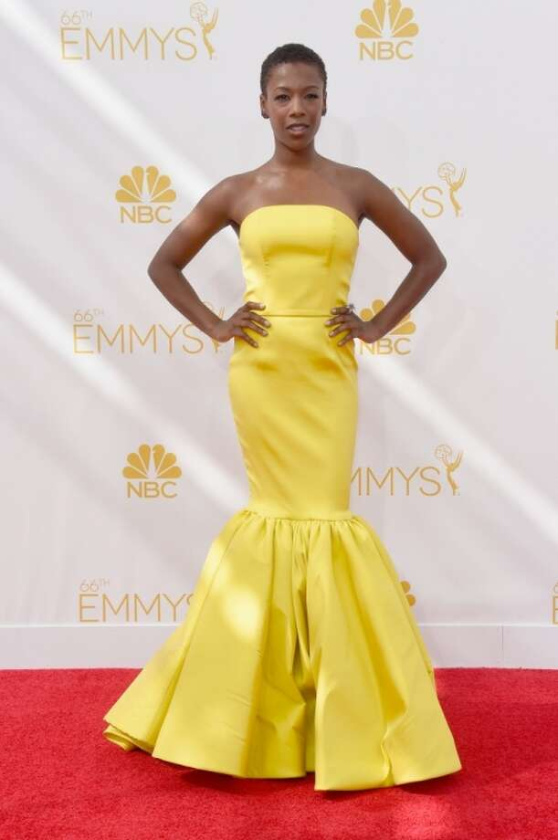 Actress Samira Wiley attends the 66th Annual Primetime Emmy Awards held at Nokia Theatre L.A. Live on August 25, 2014 in Los Angeles, California. Photo: Frazer Harrison, Getty Images