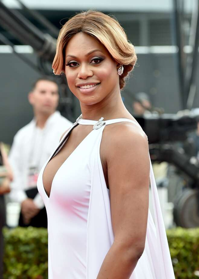 Actress Laverne Cox attends the 66th Annual Primetime Emmy Awards held at the Nokia Theatre L.A. Live on August 25, 2014 in Los Angeles, California. Photo: Alberto E. Rodriguez, Getty Images For Variety