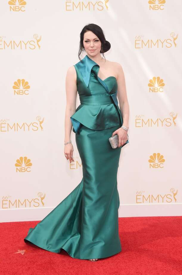 Actress Laura Prepon attends the 66th Annual Primetime Emmy Awards held at Nokia Theatre L.A. Live on August 25, 2014 in Los Angeles, California. Photo: Jason Merritt, Getty Images
