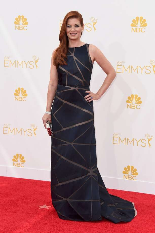 Actress Debra Messing attends the 66th Annual Primetime Emmy Awards held at Nokia Theatre L.A. Live on August 25, 2014 in Los Angeles, California. Photo: Frazer Harrison, Getty Images
