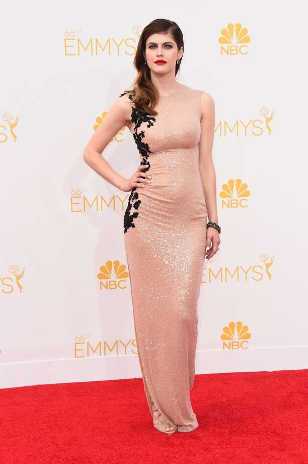 Actress Alexandra Daddario attends the 66th Annual Primetime Emmy Awards held at Nokia Theatre L.A. Live on August 25, 2014 in Los Angeles, California. Photo: Frazer Harrison, Getty Images
