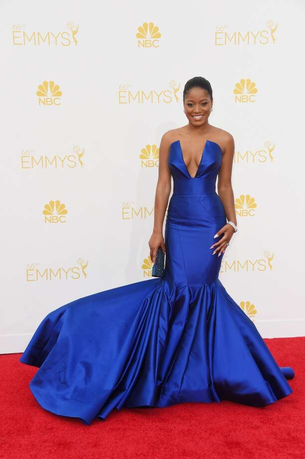 Actress Keke Palmer attends the 66th Annual Primetime Emmy Awards held at Nokia Theatre L.A. Live on August 25, 2014 in Los Angeles, California. Photo: Frazer Harrison, Getty Images