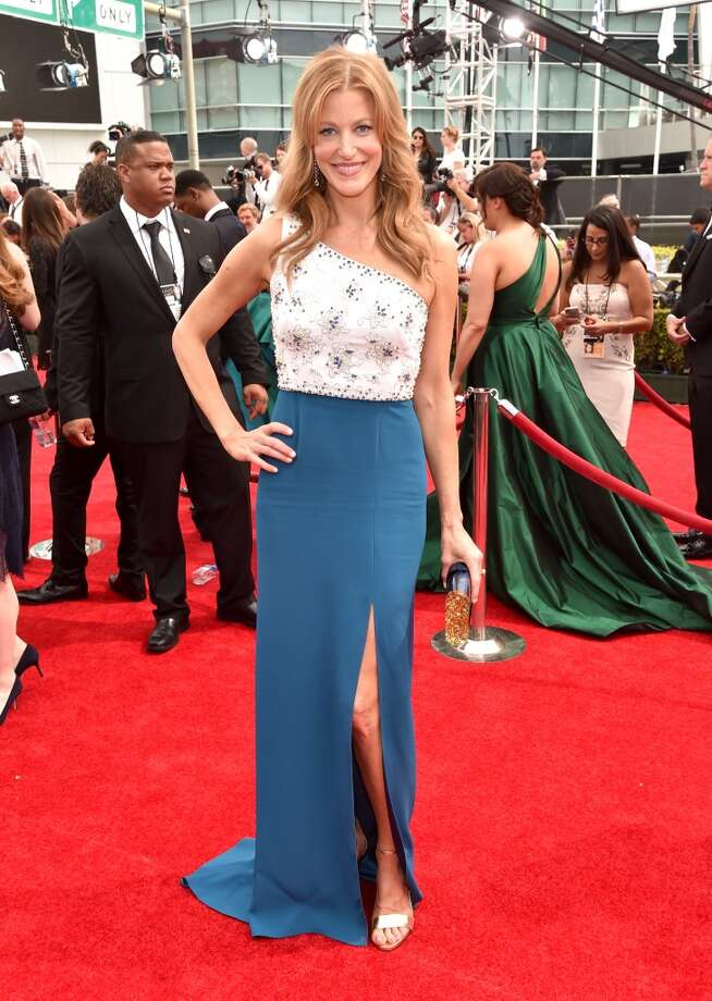 Actress Anna Gunn attends the 66th Annual Primetime Emmy Awards held at the Nokia Theatre L.A. Live on August 25, 2014 in Los Angeles, California. Photo: Alberto E. Rodriguez, Getty Images For Variety