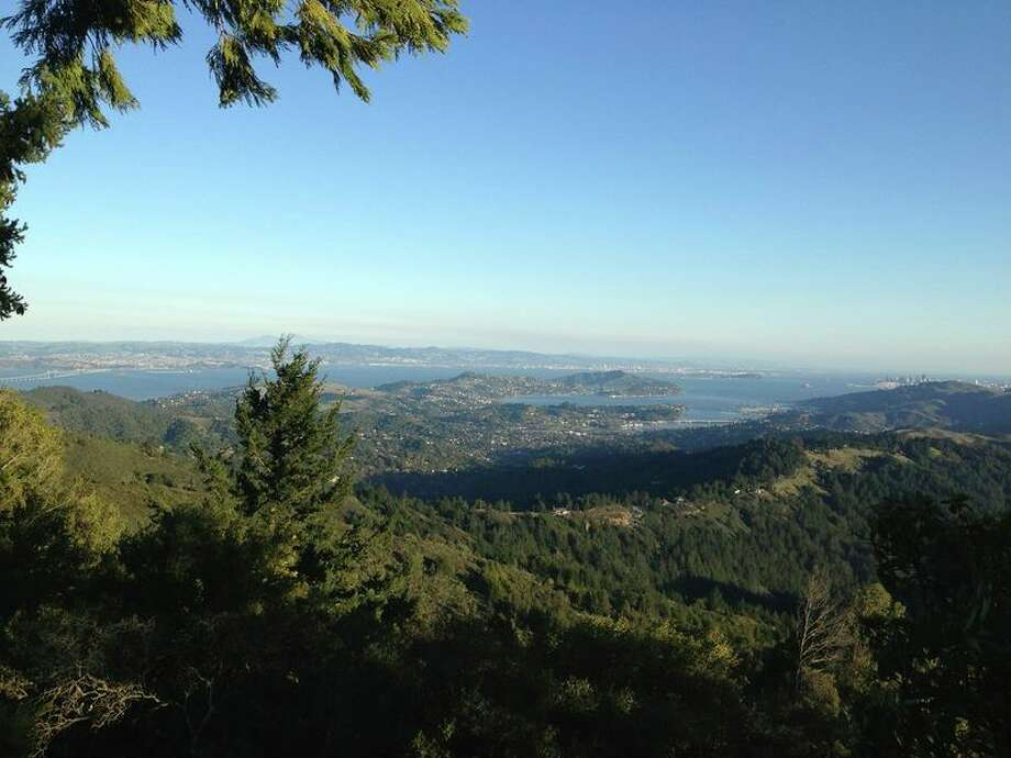 We honestly couldn't decide where to begin with Mount Tamalpais. So we've outlined one long hike (which is probably a little unrealistic), but it includes three main elements; the Pantoll Campground trail head, a great hub for hiking on Mt. Tam; the Cushing Memorial (Mountain Play) amphitheater, which has access to scenic routes in all directions; and the West Point Inn (pictured).Here's a Google Mapof that killer hike featuring all three points (5.3 miles total), although just hiking to either location is still great.
