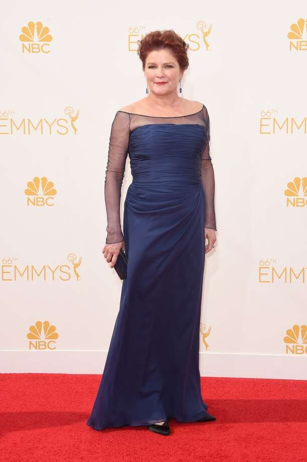 Actress Kate Mulgrew attends the 66th Annual Primetime Emmy Awards held at Nokia Theatre L.A. Live on August 25, 2014 in Los Angeles, California. Photo: Jason Merritt, Getty Images