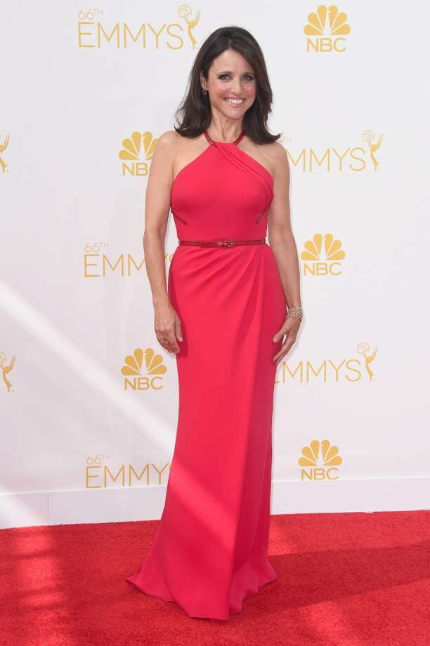 Actress Julia Louis-Dreyfus attends the 66th Annual Primetime Emmy Awards held at Nokia Theatre L.A. Live on August 25, 2014 in Los Angeles, California. Photo: Frazer Harrison, Getty Images