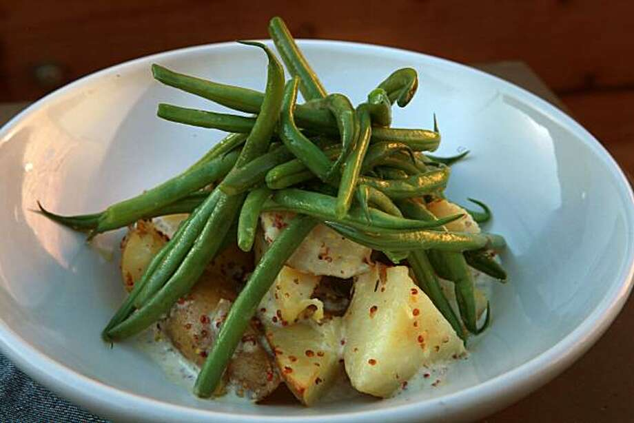 "Haricot verts (ah-ree-koh VEHR): French for green bean. Audio: Click here to hear the term ""Haricot verts."" Photo: Liz Hafalia, The Chronicle"