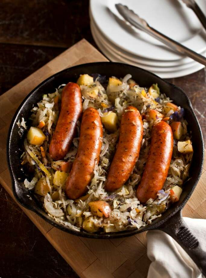 "Kielbasa (keel-BAH-sa):Smoked Polish sausage. Audio: Click here to hear the term ""Kielbasa."" Photo: Bill Hogan, MCT / Chicago Tribune"