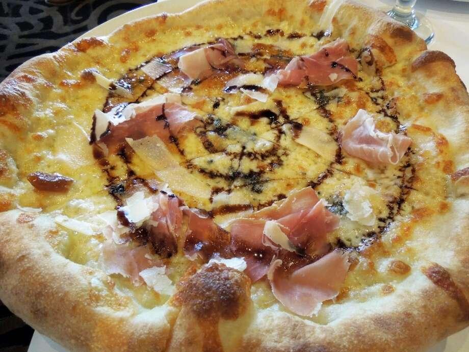 """Prosciutto (pro-SHOO-toh):A spicy, salt-cured Italian ham. Audio: Click here to hear the term """"Prosciutto."""""""
