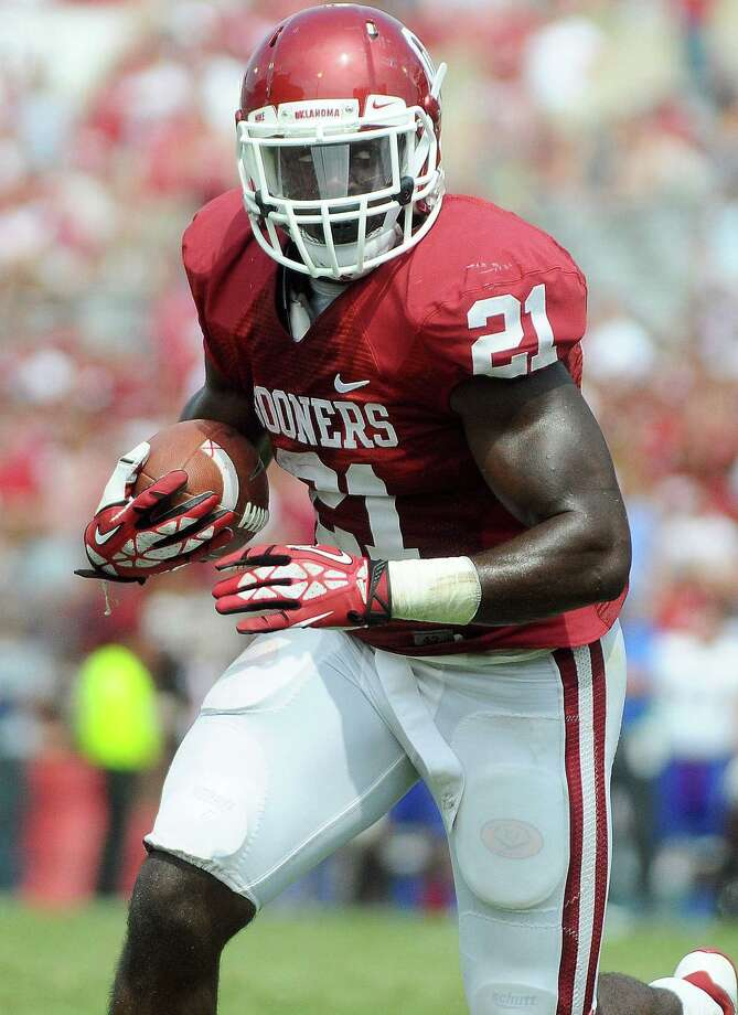 Keith Ford, who is listed as the co-No. 1 running back with Alex Ross on Oklahoma's depth chart, rushed for 134 yards last season. OU opens the season Saturday against Louisiana Tech. Photo: Jackson Laizure / Getty Images / 2013 Jackson Laizure