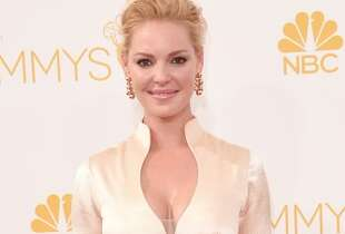 Actress Katherine Heigl attends the 66th Annual Primetime Emmy Awards held at Nokia Theatre L.A. Live on August 25, 2014 in Los Angeles, California.