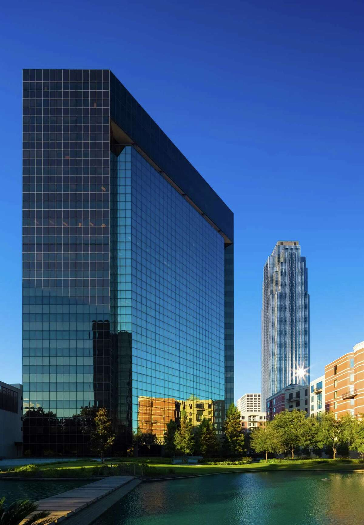MetLife Real Estate Investors is buying 3040 Post Oak Blvd. in the Lakes on Post Oak office complex.
