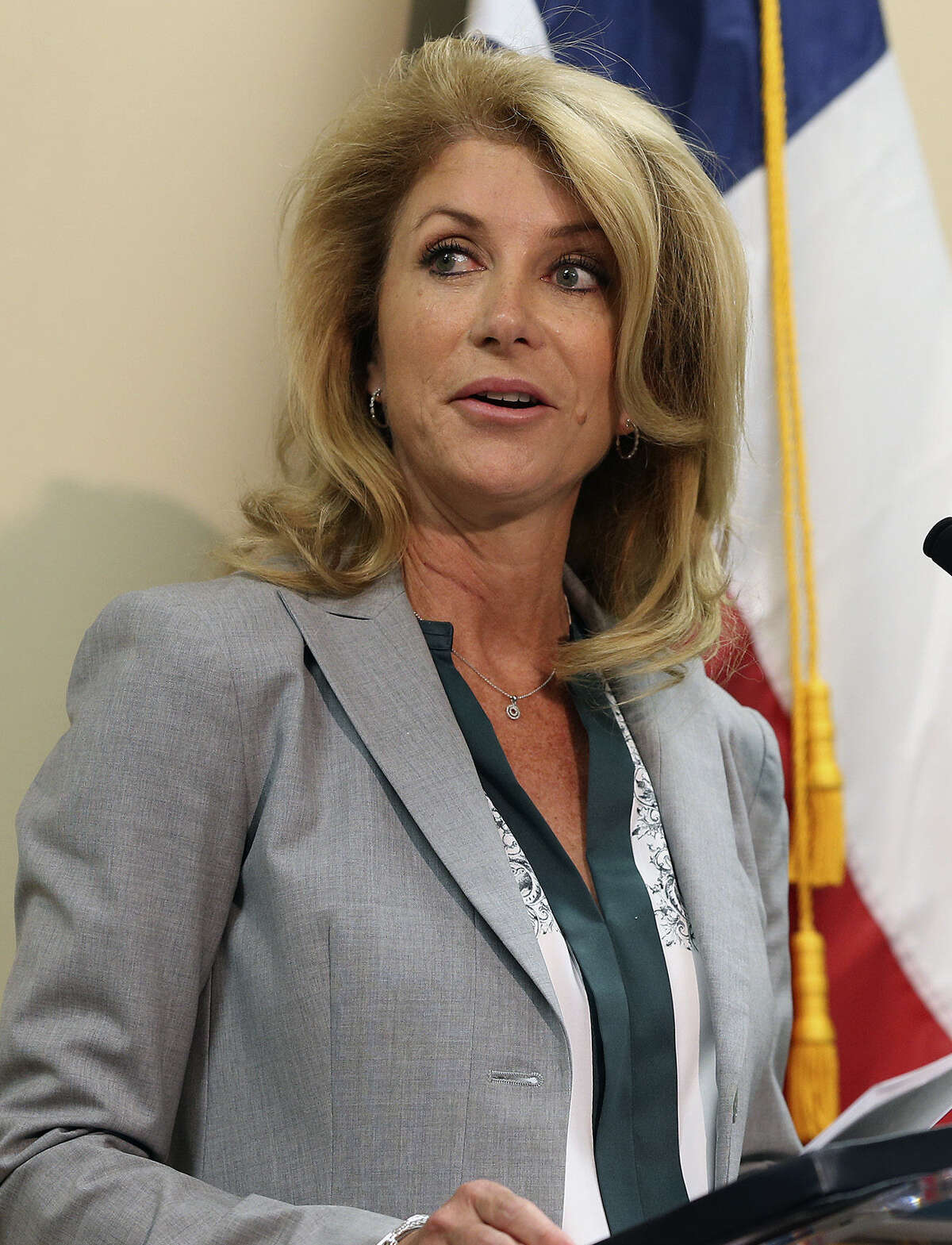 Sen. Wendy Davis has been spending at a pace of about $1 million a week on TV ads from Aug. 8 to Labor Day.