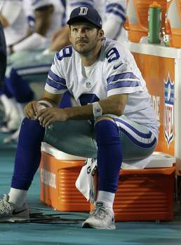 The regular season is around the corner, and Cowboys QB Tony Romo had an unremarkable outing last weekend and likely won't play in the preseason finale Thursday. Photo: Lynne Sladky / Associated Press / AP