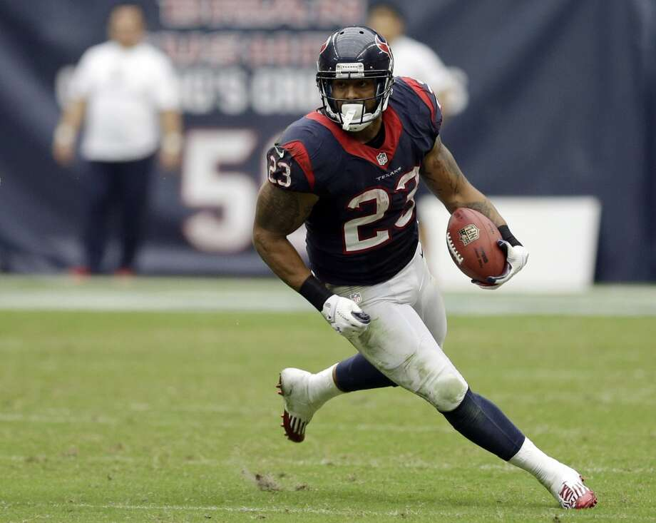 "Avoid  Arian Foster, RB, Houston Texans  (ESPN ADP: 13.7; Yahoo! ADP: 20.0) It's hard to argue for avoiding a guy who just a few years ago was close to being a consensus No. 1 overall pick. Again, it's not about avoiding him altogether, it's about not ""reaching"" for him or taking him when available just because the ADP data says so. For the second straight year, Foster enters the regular season having not played a down of preseason football due to injuries. Couple that with workload concerns, the installation of a new offensive system and a perceived downgrade at the QB position, and all signs point to Foster likely having a ""down"" year. Then again, if he's there in the 3rd round, he's all of a sudden a ""value pick"" and not the huge gamble he is in the first round or even the second. Photo: David J. Phillip, Associated Press"
