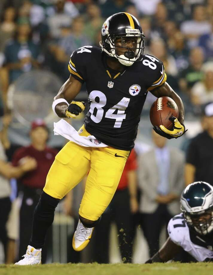 Target  Antonio Brown, WR, Pittsburgh Steelers  (ESPN ADP: 30.2; Yahoo! ADP: 25.8)  Brown always seems to find a way to get open and come down with the catch and then turn it into a big play. He isn't that big in stature (5-10, 180), but he is a big play waiting to happen whether it be while playing receiver or returning punts. Photo: Al Bello, Getty Images
