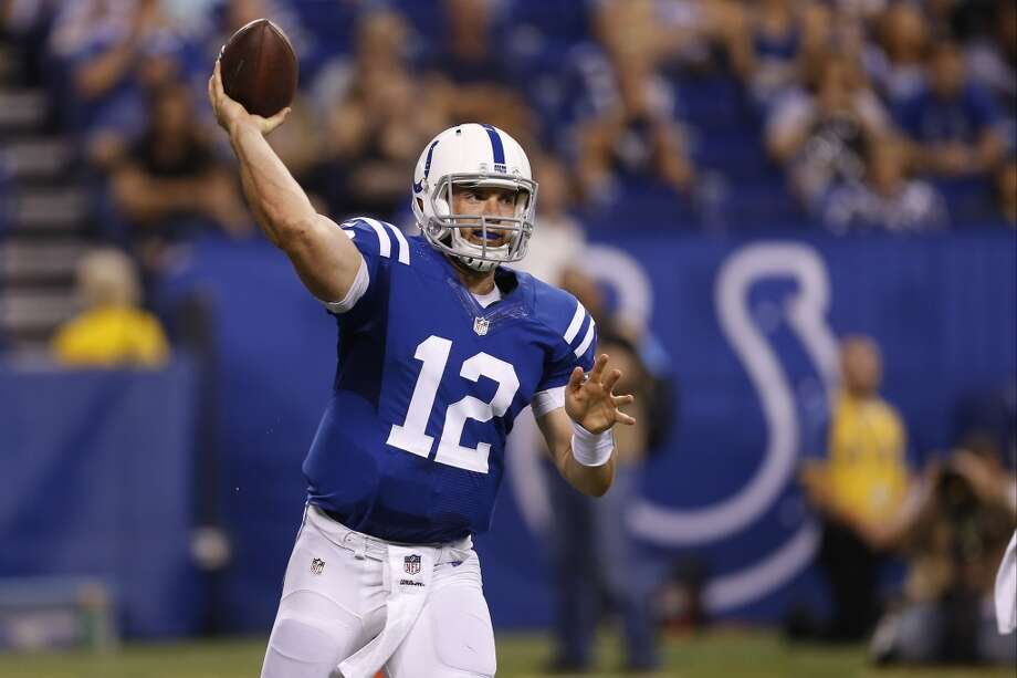 Target  Andrew Luck, QB, Indianapolis Colts  (ESPN ADP: 37.0; Yahoo! ADP: 55.8)  The 24 year old from Stratford High School is an elite option under center. The Colts have done a good job of surrounding him with playmakers and he is primed for a big season when he gets to face the Jaguars, Texans and Titans twice each. Photo: Sam Riche, Associated Press