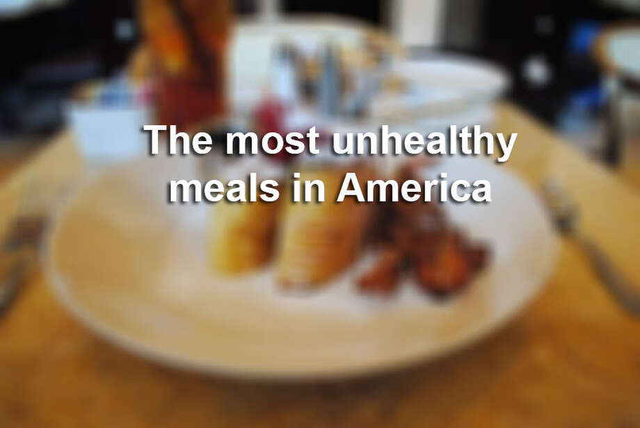 See some of the most unhealthy meals in America, the winners (or losers) of the 2014 Xtreme Eating Awards.