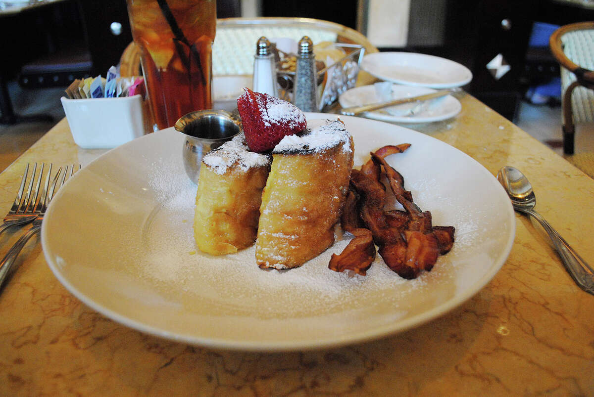 Cheesecake Factory's Bruleed French Toast Calories: 2,780 Saturated fat: 93 grams Sodium: 2,230 mg Added Sugars: 24 TSB