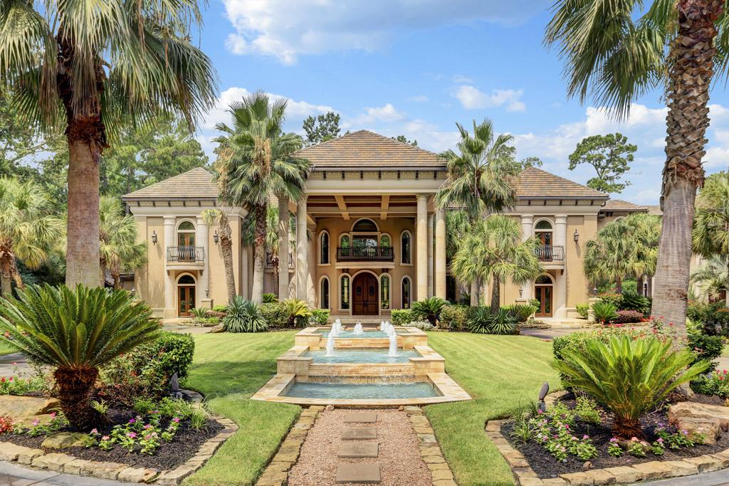Mediterranean Style Palace For Sale In Houston Houston