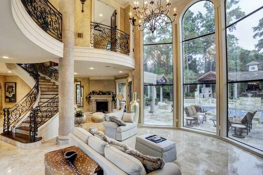 Mediterranean style palace for sale in houston houston chronicle Mediterranean home decor for sale