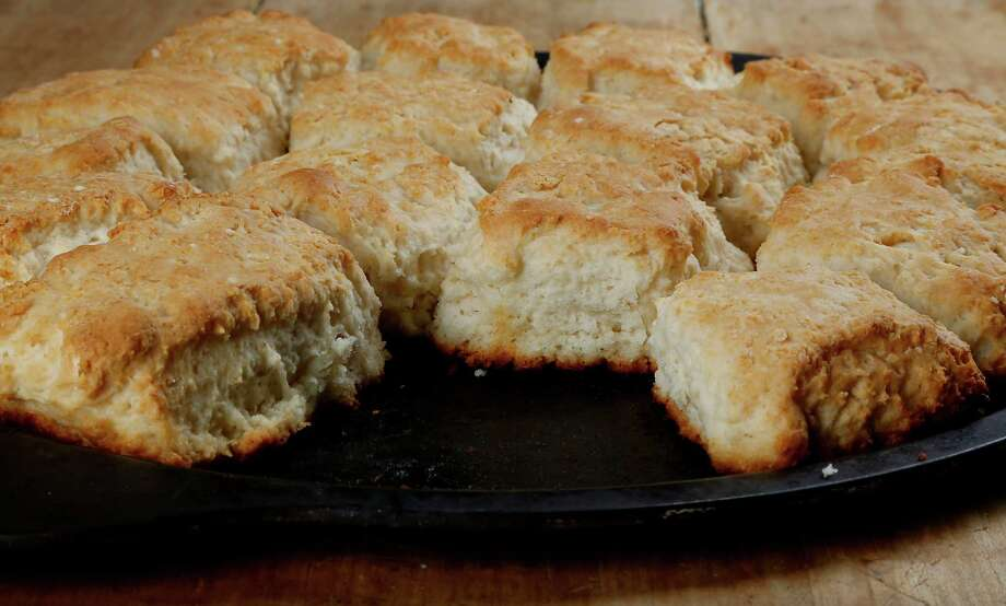 Just four ingredients go into these fluffy biscuits. Photo: James Nielsen, Staff / © 2014  Houston Chronicle