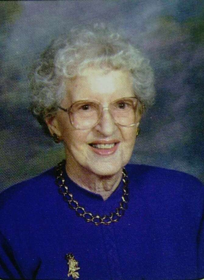 ** FILE ** This is a file photo of Ottilie Lundgren, from Oxford CT, the fifth person to die of anthrax in 2001. Federal prosecutors were planning to indict a government scientist in connection with the anthrax deaths, but the man, Bruce E. Ivins, 62, apparently committed suicide. He died July 29, 2008.  (AP Photo/Immanuel Lutheran Church, File) Photo: Anonymous, AP / IMMANUEL LUTHERAN CHURCH