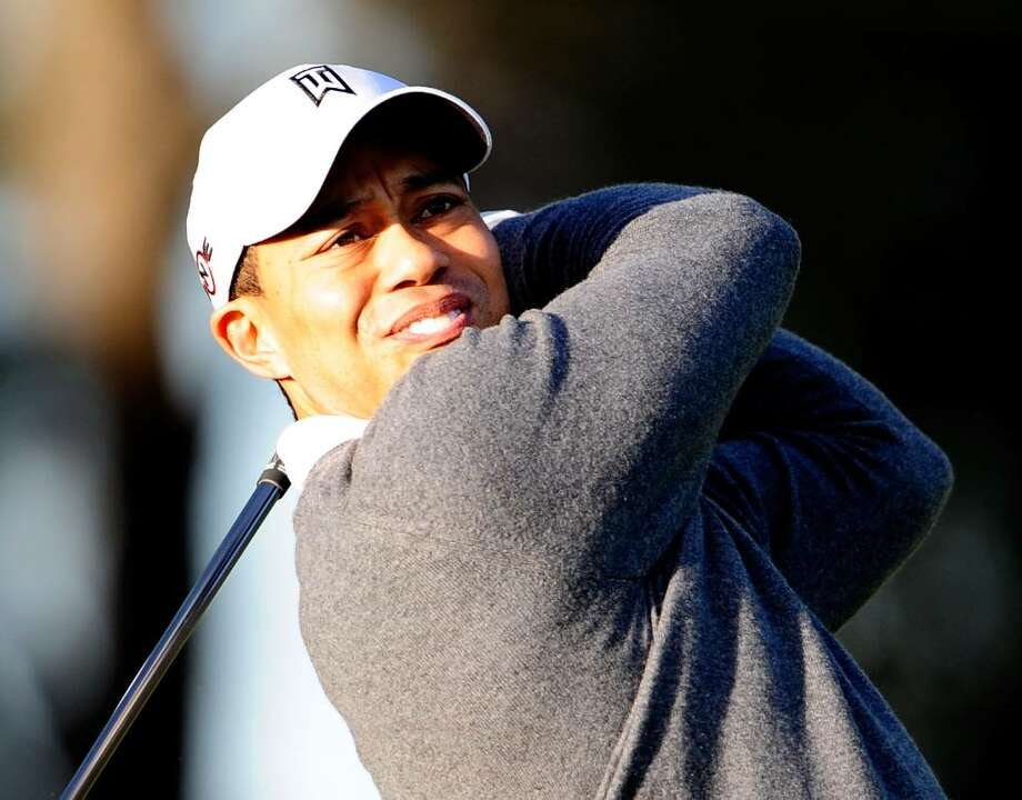 WINDERMERE, FL - FEBRUARY 18:  Tiger Woods practices golf outside his home on February 18, 2010 in Windermere, Florida. Woods will make a statement at the PGA Tour headquarters this Friday morning (February 19, 2010), according to a notice on the PGA Tour's web site.  (Photo by Sam Greenwood/Getty Images) *** Local Caption *** Tiger Woods Photo: Sam Greenwood, Getty Images / 2010 Getty Images