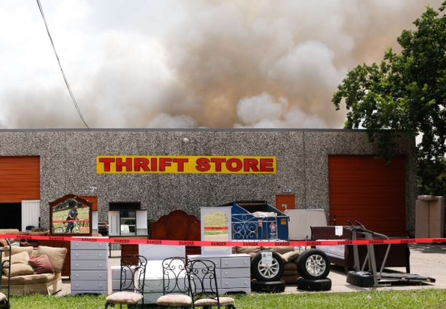 A fire erupted from a warehouse in the city of South Houston on the afternoon of Aug. 26, 2014. No injuries were reported.